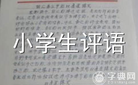 【热门】三年级评语范文