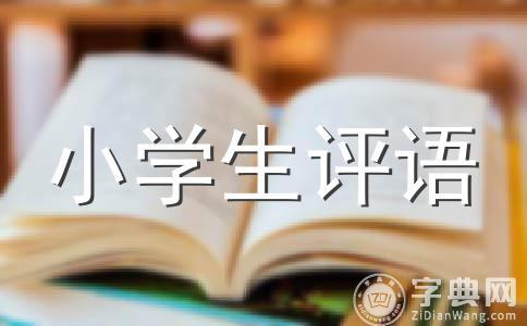 【必备】评语范文(精选五篇)