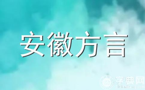 岳西方言(4)