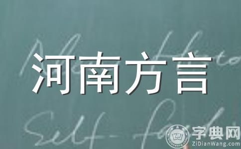 郑州方言大全D篇