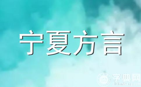 宁夏方言大全