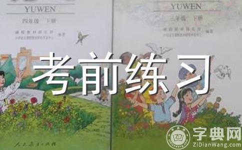 北师大版六年级下册语文暑假试题